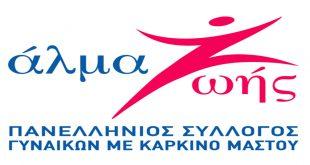 Χαιρετισμός Προέδρου Πανελληνίου Συλλόγου Γυναικών με Καρκίνο Μαστού για ιστοσελίδα Ξαναρχί-ΖΩ